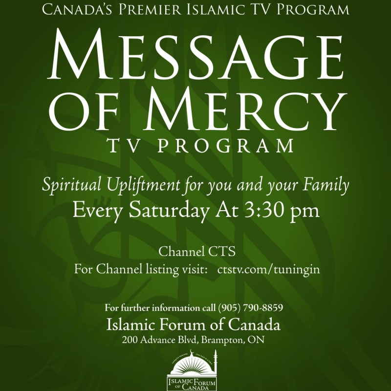 Message of Mercy TV Program