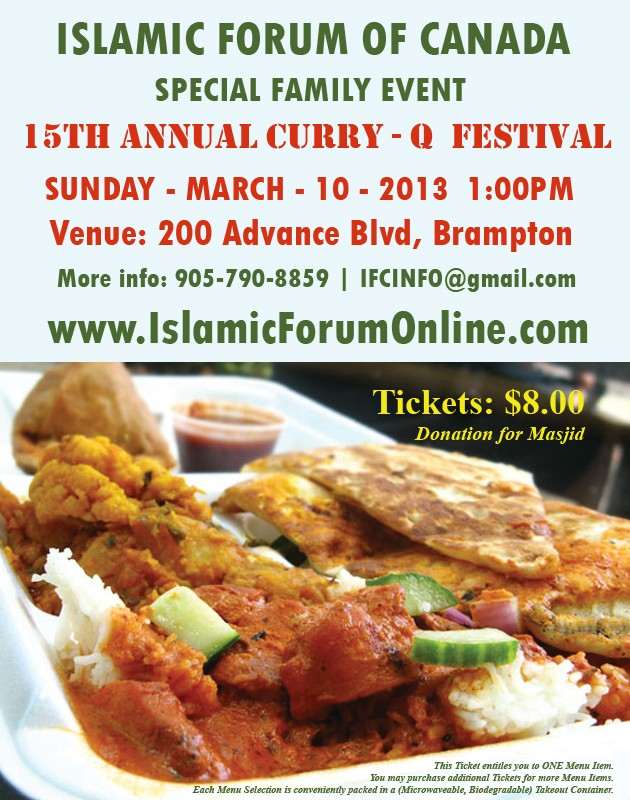 15th Annual IFC Curry-Q- Festival 2013