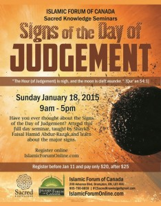 sks - Signs of the Day of Judgement Seminar