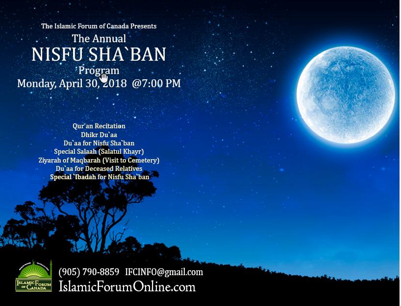 Nisfu Shaban 2018